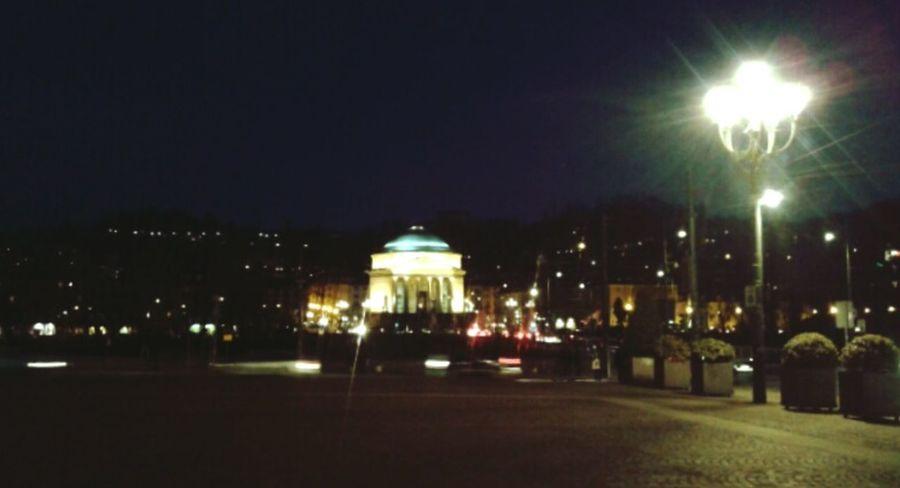 Turin Torino Gran Madre Torino Evening Torinobynight Sera Evening Sky Lights Lampione Luci Cityscapes