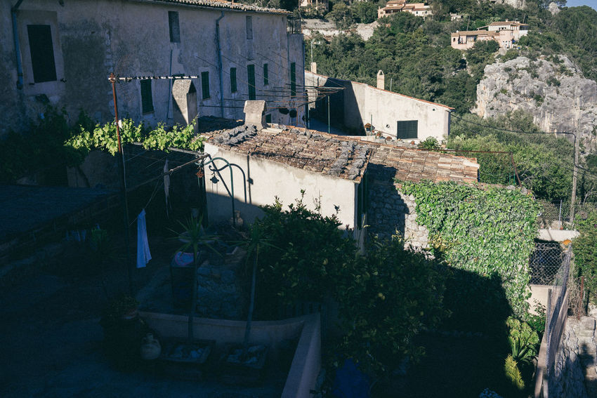Mallorca Mediterranean  Architecture Building Exterior Built Structure Clothesline Day Growth House No People Outdoors Plant Roof Spaın Town Tree Village