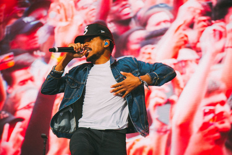 Chance The Rapper at Meadows Festival, 2016 Chicago Meadows Festival NYC Chance The Rapper Concert Concert Photography Music Festival Performance Powerful