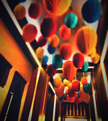 The Places I've Been Today Rain Balloons Focus At The Back Banxcroxadoodledoo Vintage Camera Interior Design Ceiling Installation Colors