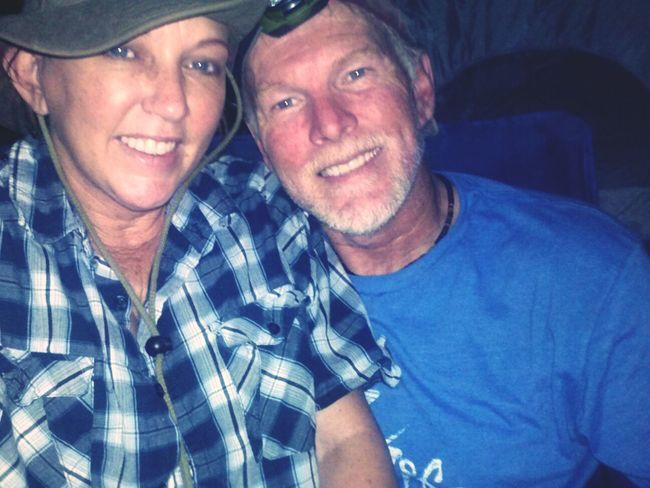 Robbie and I camping. He even shot a coyote!! :) Quality Time Relaxing Enjoying Life Escaping