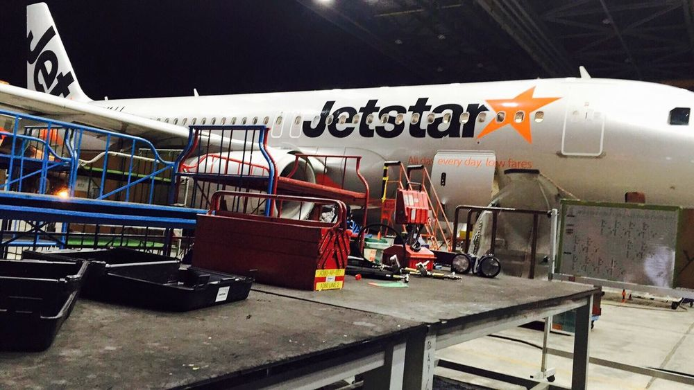 Keeping it Airworthy Aviation Airbus The Story Behind The Picture From Where I Stand Envision The Future Jetstar