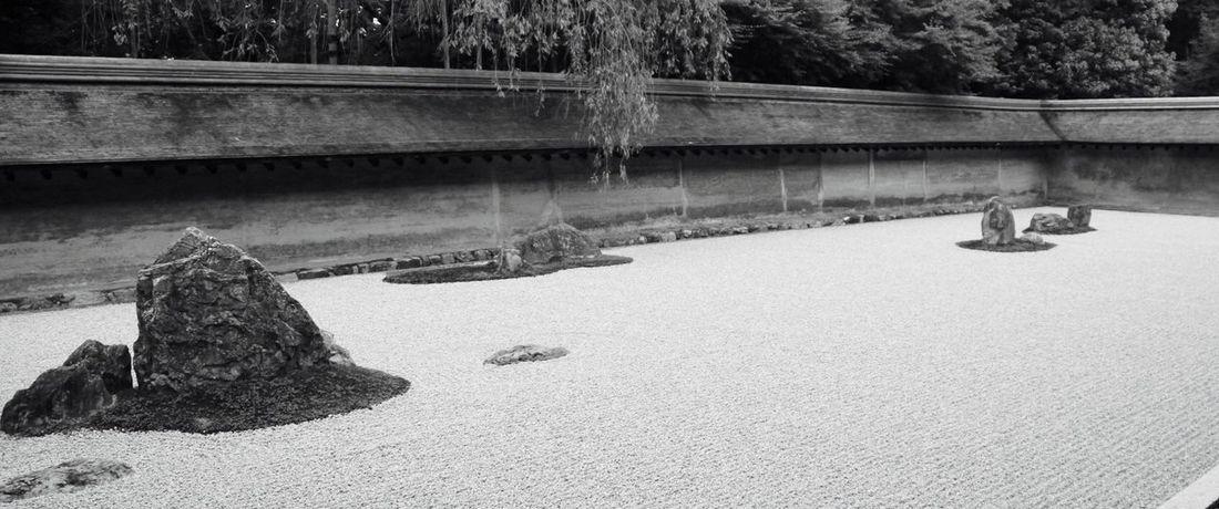 """石庭 Zen Garden 竜安寺 Kyoto 15全部は見えず… Introducing Culture Of Japan Which Must Be Left To The Future…… """"未来に残す日本の文化"""""""