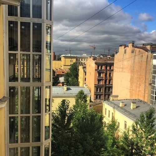 Смена дислокации. невский лето Спб крыши Spb Roofs Summer мамаядома