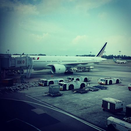Airfrance France Changiairport Singapore