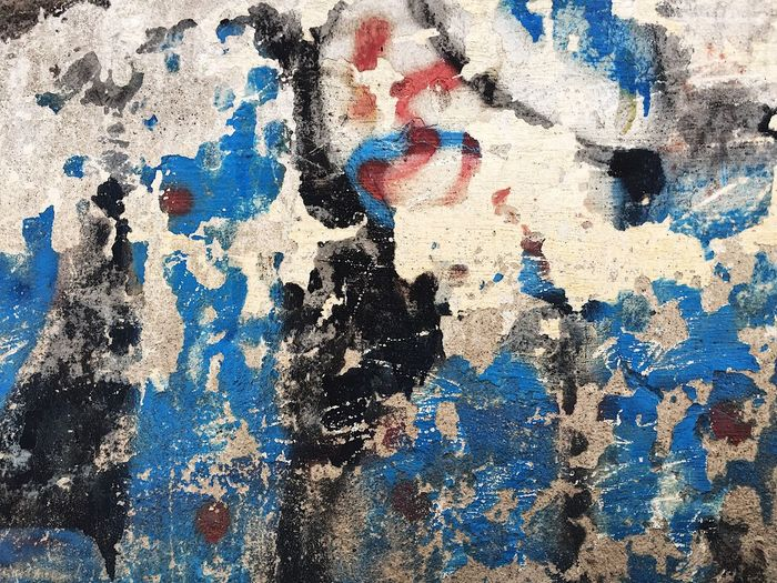 Backgrounds Rough Textured  Blue Full Frame Abstract Pattern Paint Close-up Painted Image No People Architecture Day