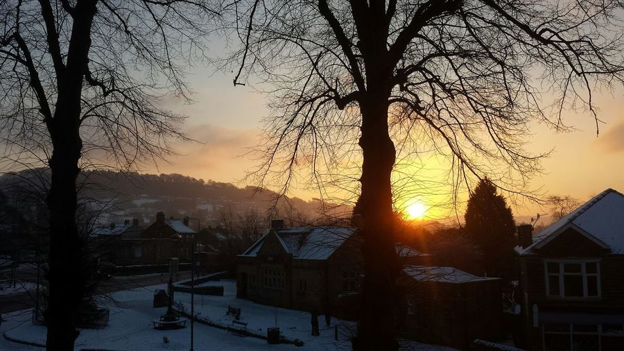 Beautiful sunrise this morning in Darley Dale ? The Purist (no Edit, No Filter) Sunrise N Sunsets Worldwide  Snow Streamzoofamily