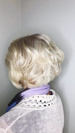 Platinum & layers Redken Platinum Blonde Hair Rear View Real People Lifestyles Women First Eyeem Photo