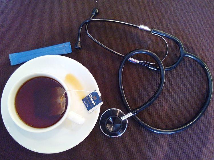 Cup of tea 🍵☕ in Radisson Blu Hotel , Cebu Teatime Tea Dilmah Dilmahtea Nurse Nurseslife Stethoscope