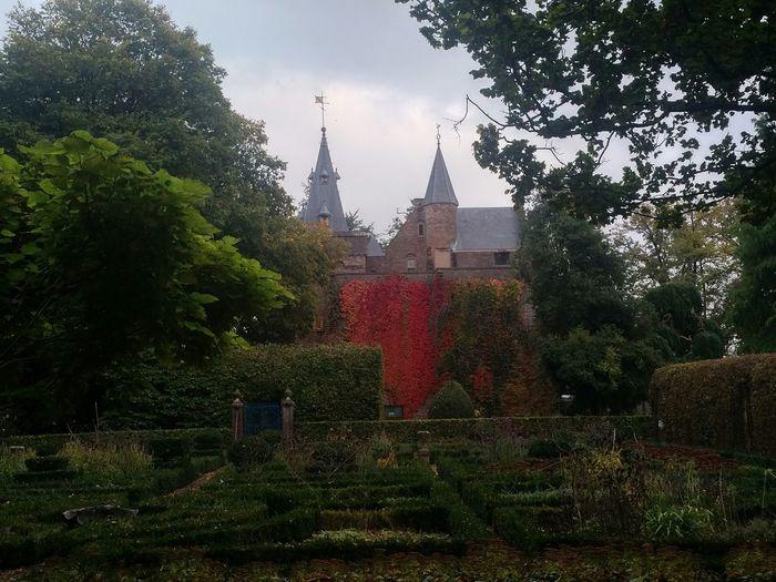 Castle Netherlands Autumn Fall