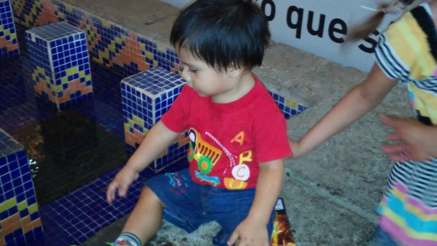 Galerías Santo Domingo With My Baby Enjoying Weekend