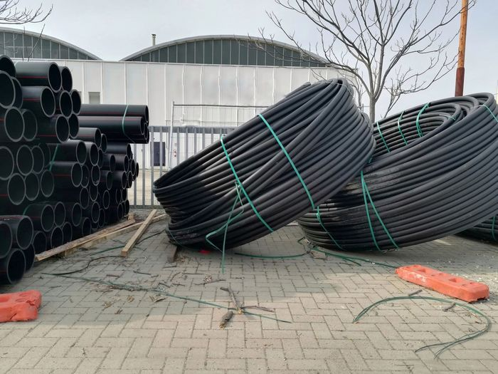 Gas Pipeline Gas Gas Pipes Pipe - Tube Work Material Hydraulic Pipes Industrial Work Tubes Rolled Up Pipes Tube Tubes Day No People Outdoors