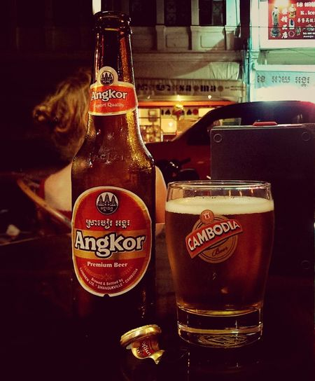 Angkor beer Silvia In Asia Drinks