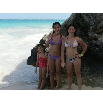 ?✌??☀Throwbackthursday  Travel Mexico2014 Sisters caribe beach bluewater happiness