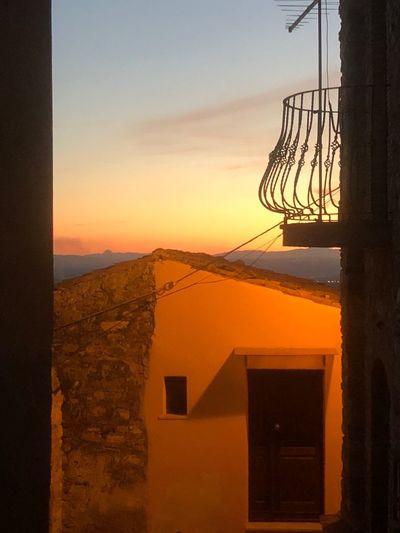 La Bellezza salverà il Mondo. Sunset Orange Color Sky Beauty In Nature Built Structure Architecture Nature Outdoors Day Calabria (Italy) Panta Rei Poesia Poetic Autumn Life La Bellezza Salverà Il Mondo Ticiporto Pitagora