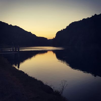 Rhein River Reflection Water Reflections Landscape Landscape_Collection Water_collection Summer Summertime Summernight