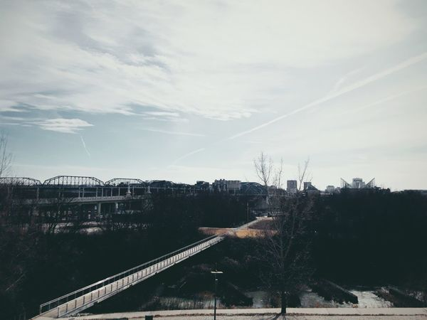 Winter Tennessee Tn Chattanooga Chattanooga Tennessee Cityscape City Skyline Tree No People Outdoors Sky Nature Day Architecture Beauty In Nature Vapor Trail