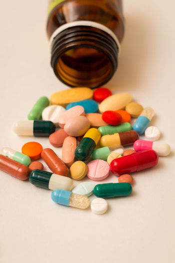 Drugs 💊💊 Pharmacy Pharmaceutical Pharmacist Drugs 💊 Drugstore Drugs Health Vitamins Copy Space Product Photography Drugstore Antibiotic Nutritional Supplement Prescription Medicine Pill PainKiller Healthcare And Medicine Taking Medicine Medicine Multi Colored Prescription  Recreational Drug Dose Capsule Pill Bottle Pill Container Medical Supplies