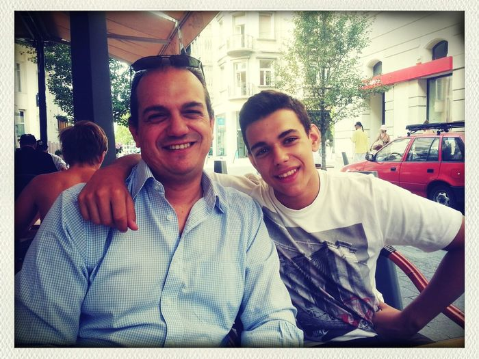 Dad and bro! :D