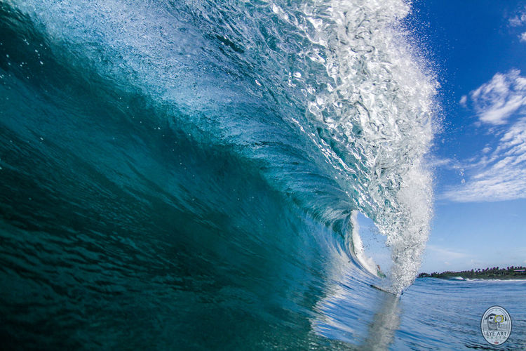 Momentum Barrel Blue Bluewave Close-up Eyeartphoto Nature No People Outdoors Perfectbarrel Perfection Sea Sky Water