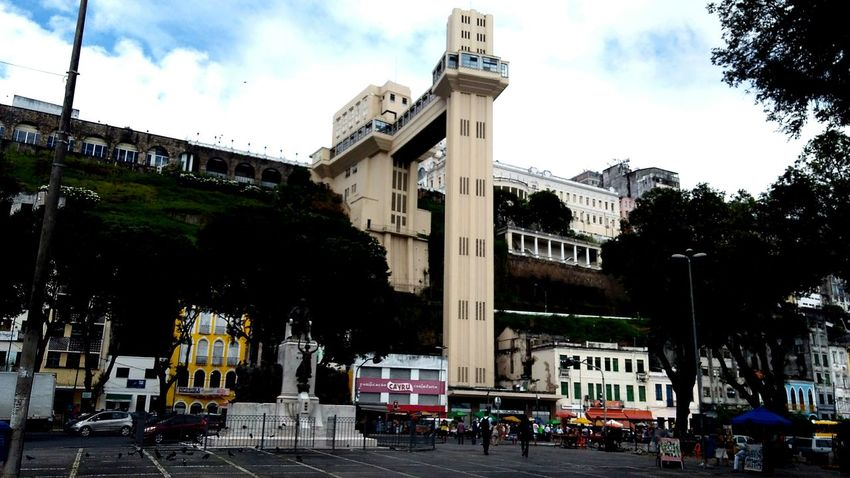 Salvador Bahia Travel Destinations Architecture Elevador Lacerda