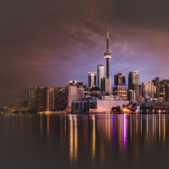 Been away for a bit but this view never gets old just refreshed Jasoncrockettphotography Amazing Architecture Cntower Downtown Toronto Cityscapes Buildings