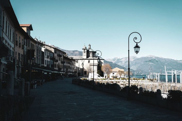 Idyllic Idyllic Scenery Built Structure Building Exterior Outdoors Day Cannobio Footpath Lake Maggiore Church Architecture Houses Harbor Marina Buildings Lago Maggiore Travel Destinations Travel Italy Springtime Spring City Cityscape Mountain Water Street Light Sky Snowcapped Mountain Building My Best Photo
