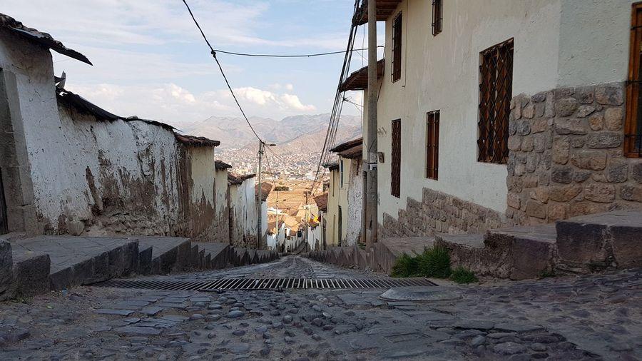 street downhill