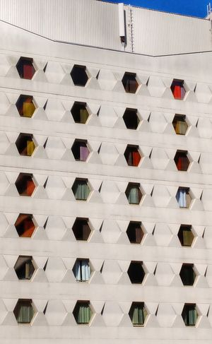 Hexagons Architecture Hexagon Hexagonal Windows Pattern Building Hotel Curtain Minimal Minimalism Minimalobsession