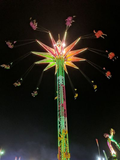 Celebration Arts Culture And Entertainment Multi Colored Night Event Illuminated Low Angle View Celebration Event Sky Outdoors Fun Cityscape Amusement Park Ocfair2017 OC Fair Ground OC Fair City Amusement Park Ride Ocfairgrounds Ocfair Oc Fairgrounds EyeEm Gallery EyeEm