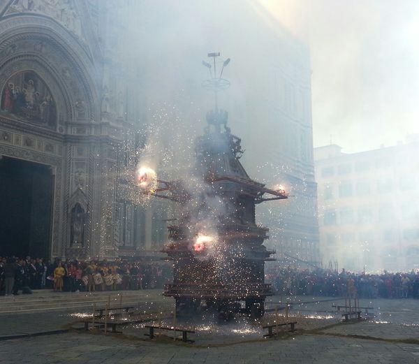 Brindellone Firenze Pasqua Scoppio Del Carro