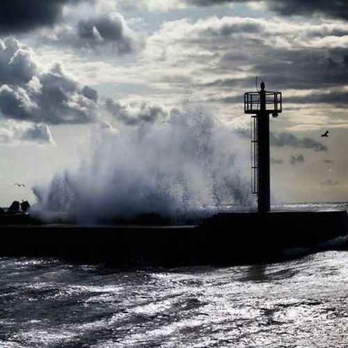 Memories Darłowo2009 Sea Storm Beautifulview Beautifulmemories Polskiemorze Bałtyk MorzeBałtyckie Balticsea Polishsea
