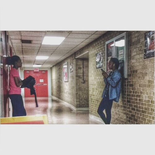 NYC Collegelife Stj Stjohnsuniversity Trackandfield Candid Hallway Friends Friendship IPhoneography Jamaican Queens