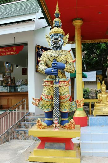 Statue of a temple