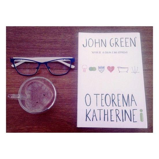 Nova leitura. Johngreen Oteoremakatherine Bomdia