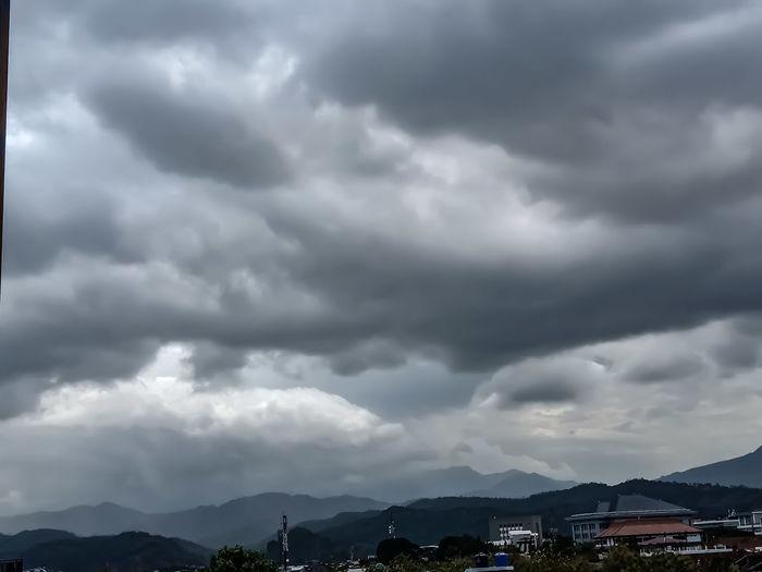 dark sky and