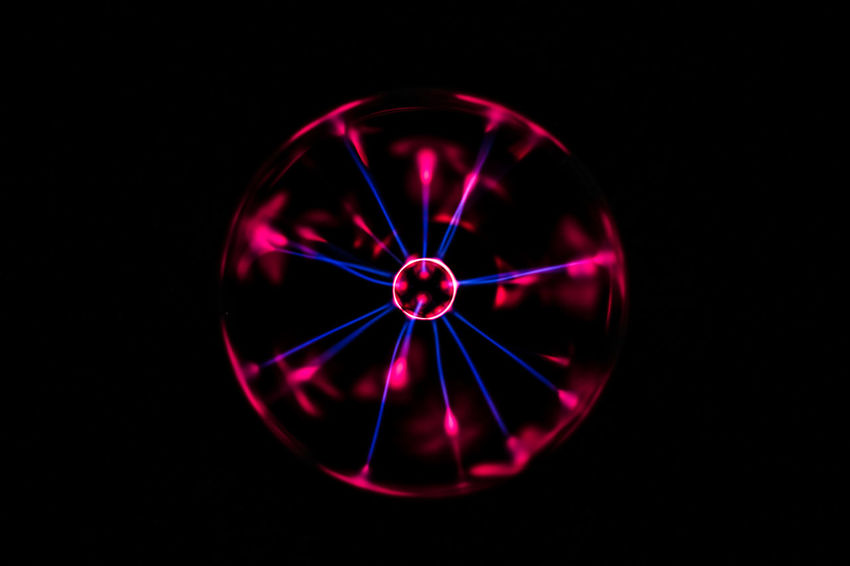 Abstract Photography Artificial Light Cosmos Futuristic Abstract Beauty In Nature Black Colorful Dark Photography darkness and light Electric Light Electricity  Energy Long Exposure Plasma Plasma Ball Power Supply Selective Focus Space Streaming Universe
