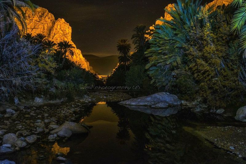 Nightphotography Algeria Photography Wailshow El Kantara Biskra Hello World
