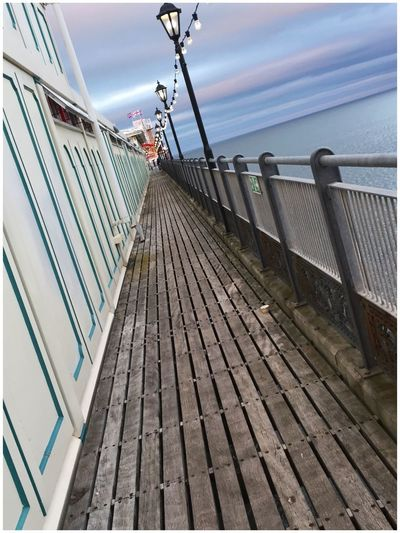 Paignton Pier Paignton Water Outdoors Railing Sea Sky Day No People Transportation Nautical Vessel Built Structure Architecture Nature Building Exterior Horizon Over Water Boat Deck Perspective Perspectives Perspective Photography Pier Eye4photography  EyeEm Gallery EyeEm Best Shots EyeEm