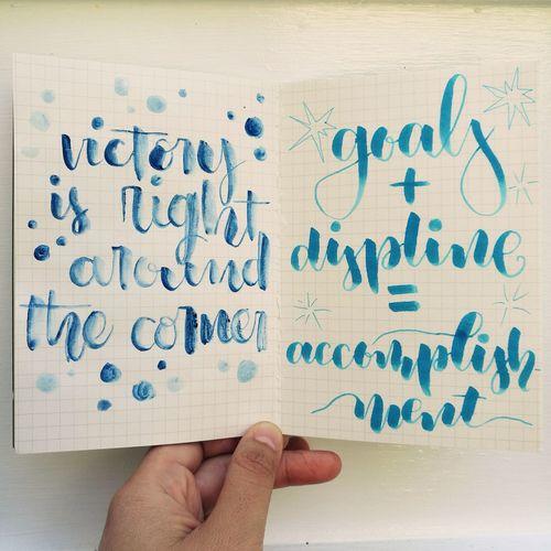 Quoteoftheday Calligraphy Handwriting  Brushlettering Communication Wood - Material Handwriting  Alphabet Writing