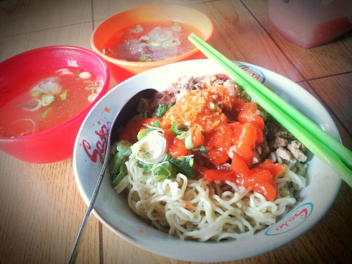 Mie Ayam Purwoaji My Late Lunch