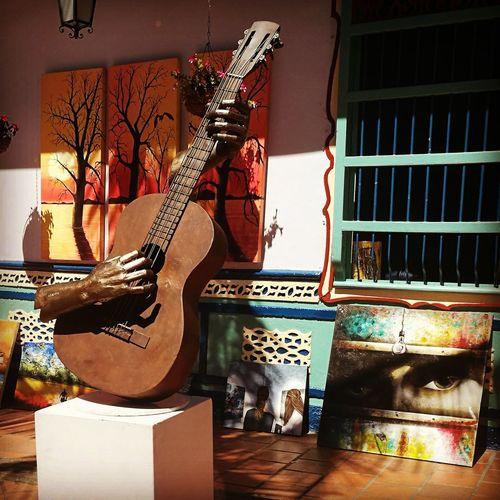 Picture Art Music Guitar Arts Culture And Entertainment Beautiful óleo