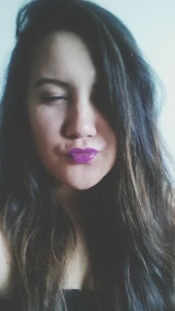 Ready for Pemberton with mah new PurpleLips Shamlessselfie