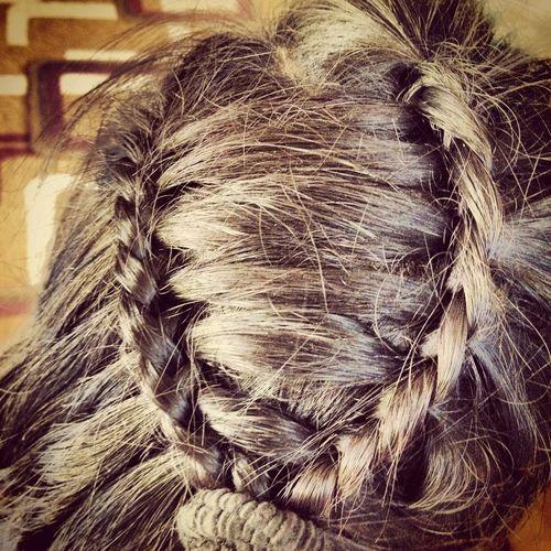Double falls braids. Braids