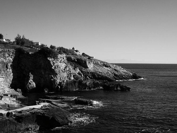 Santa Cesare Terme Salento Italia Costa Salentina Sea Tranquil Scene Horizon Over Water