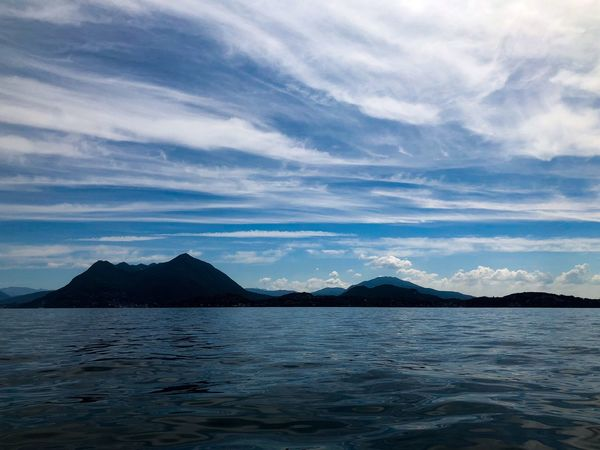 Italy Lago Maggiore Stresa Italy Stresa Travel Destinations Tourist Destination Water Sky Cloud - Sky Mountain Scenics - Nature Beauty In Nature Tranquil Scene Tranquility No People Nature Idyllic