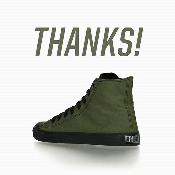 Mega Happy just Won two pairs of Vegan Sneakers by @ethletic Thankyou