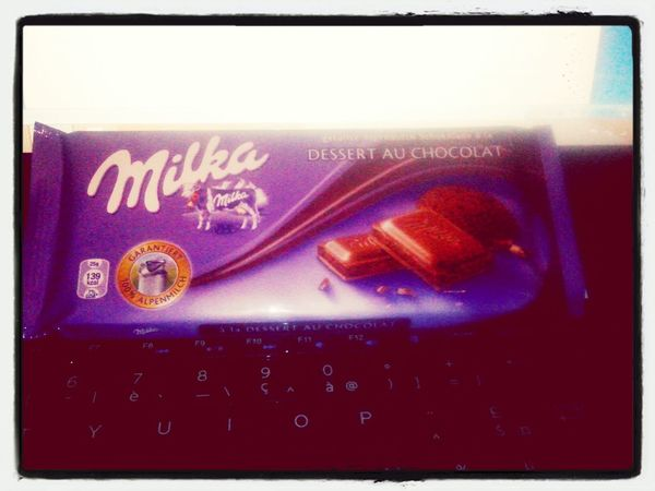 un ptit regal ça se merite! Love Chocolate Happy Chocolate♡ My Life !!!' Chocolat Milka