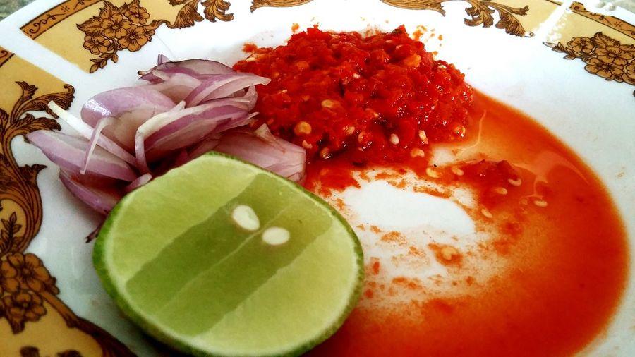 West Sumatera Food Sambalado