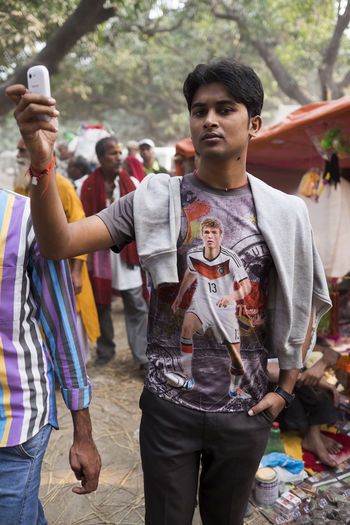 A Thomas Mueller fan taken at the Sonepur Mela, Bihar Adult Bihar Cellphone Cellphone Photography Football Fans Fussball Fussball German Hajipur India Indian Only Men Sonepur Sonepurmela Thomas Mueller Travel Travel Photography